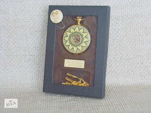 продам №521 Часы карманные механические в футляре с цепочкой рабочие хорошее состояние Германия бу в Запорожье