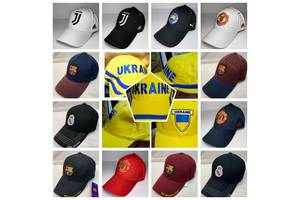 Бейсболки Украина, Португалия, Бразилия, Германия, Польша, Испания,