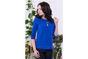 Блуза Орландо от ТМ Ариззо, цвет электрик