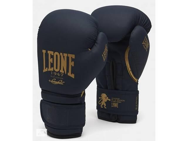 Боксерские перчатки Leone Mono Blue (500118) 16 ун.- объявление о продаже  в Полтаве