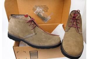 Ботинки замшевые большой размер Dunham Dak01tps