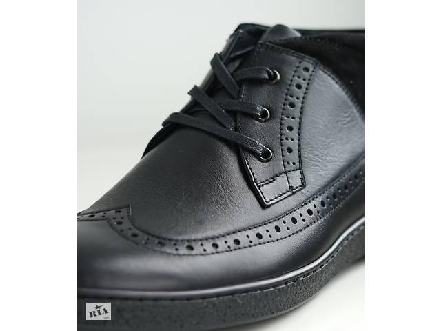 купить бу Ботинки зимние Safari черные в Тернополе