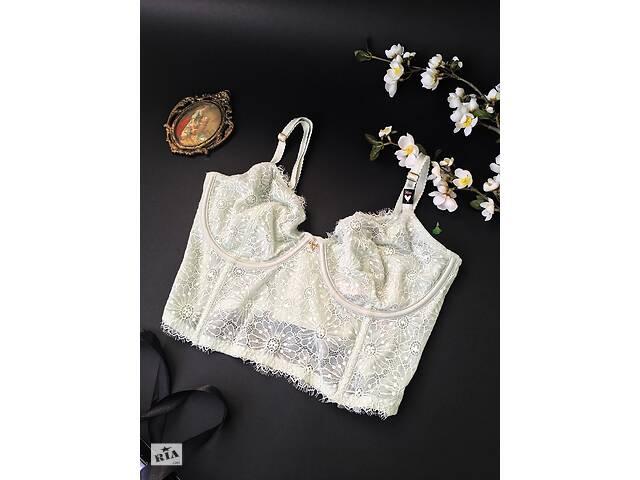 Бралетт квітковий victoria& # 039; s secret unlined long line demi bra- объявление о продаже  в Одесі