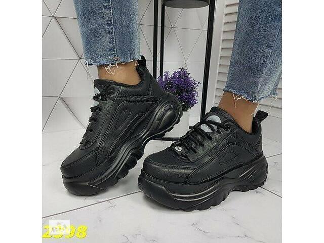 бу Черные женские кроссовки в стиле Buffalo 36,39р в Ровно
