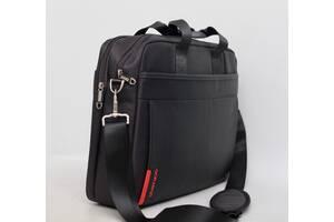 Мужская сумка / портфель в руку и через плечо с отделом для ноутбука Мужская сумка под ноутбук
