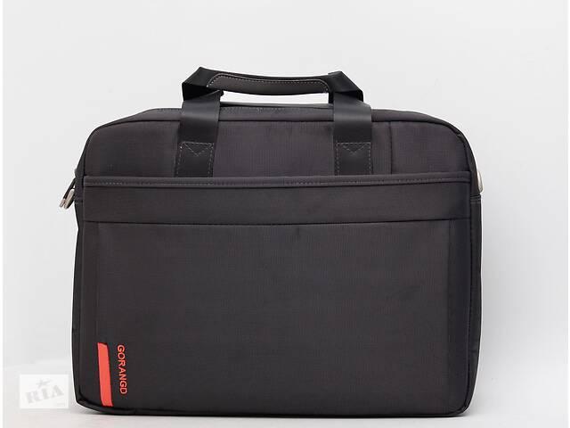 бу Чоловіча сумка з віддлом для ноутбука на дві ручки і через плече Gorangd в Киеве