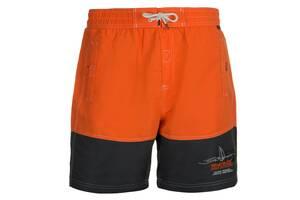 Чоловічі шорти Regatta Bratchmar M Orange-Grey SKL35-239581
