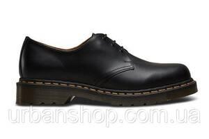 Чоловічі туфлі Dr. Martens 1461 59 Black DM10085001 розміри 39-45. Мартенси, Docs, мартіна.