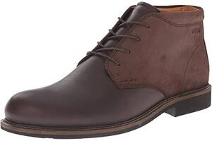 Черевики Ecco Findlay Chukka, Coffee/Mocha, кожа нубук замша (44)