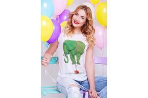 Женские футболки, майки и топы FashionUp