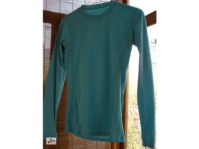 продам футболка С 10 ж. р. длинный рукав, термокофта летняя, голубая, спорт бу в Запорожье