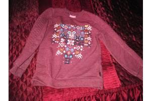 Футболка-свитер бордовая
