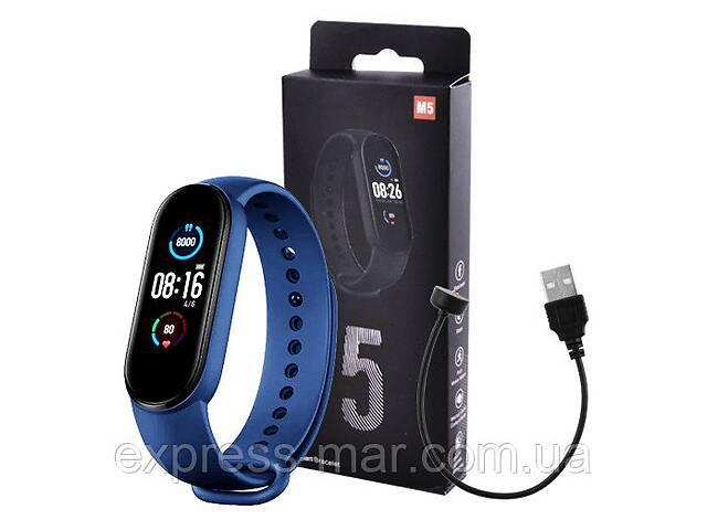 Фитнес браслет Smart Watch M5 Band Classic Black смарт часы-трекер. Цвет: синий- объявление о продаже  в Харькове