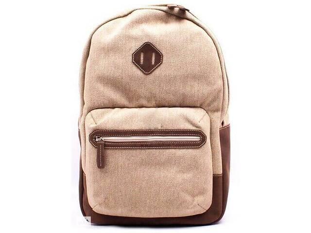 купить бу Городской рюкзак из ткани Valenta бежевый на 16л в Киеве