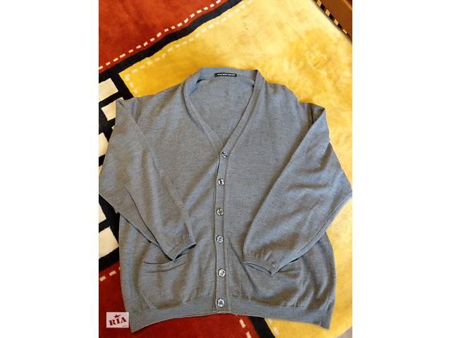 купить бу Кардиган пуловер кофта муж. Royal Wool Company, made in Italy, XL в Киеве