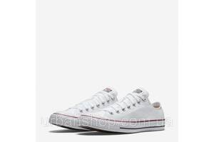 Кеди Converse All Star Low Optical White M7652 білі короткі (36-44) NEW! Стильний Львів