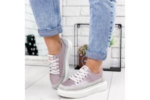Кеды розовые натуральная кожа, женские кожаные кроссовки, кеды кожаные 36-41р