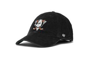 Кепка 47 Brand Corduroy Anaheim Ducks (CRRGW25TCS-BK)