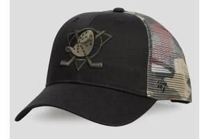 Кепка 47 Brand Ducks Branson (H-BCKSW25CTP-BKD)