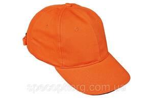 Кепка (бейсболка) хлопок Tulle 100% Сotton оранжевая