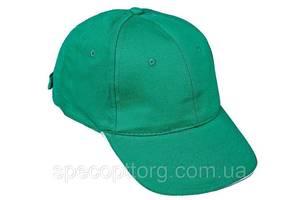 Кепка (бейсболка) хлопок Tulle 100% Сotton зеленая