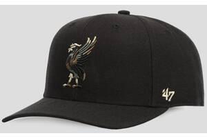 Кепка (mvp) 47 Brand Dp Camfill Snap Liverpool Fc (EPL-CMFSP04WBPAR-BK)
