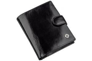 Классическое мужское портмоне Boston  Черный, Черный Bstn18813