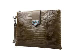 Клатч повседневный Desisan Женский кожаный клатч DESISAN  SHI-1514-7788