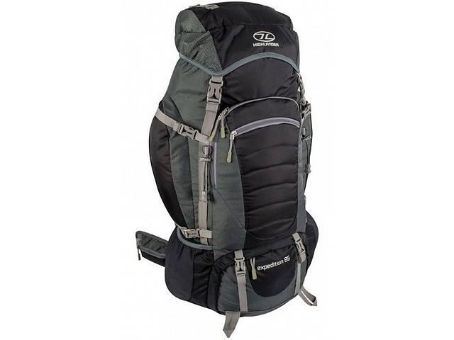 купить бу Компактный туристический рюкзак 85 л. Highlander Discovery 85, 924177 черный в Киеве