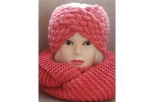 комплект повязка-чалма и шарф-снуд