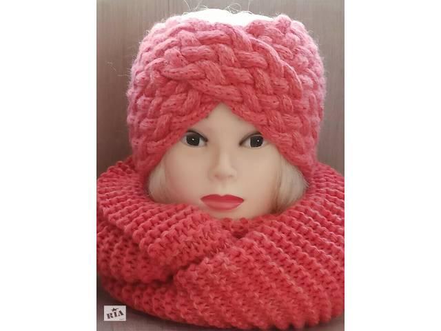 продам комплект повязка-чалма и шарф-снуд  бу в Борисполе