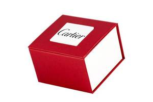 Коробочка с логотипом Cartier Red