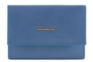 Кошелек кожаный Piquadro Bl Square, синий