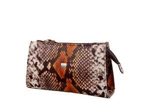 Косметичка Desisan Жіноча шкіряна сумочка DESISAN SHI2-738