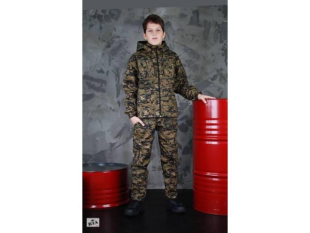 купить бу Костюм камуфляжный детский с капюшоном в Бердичеве