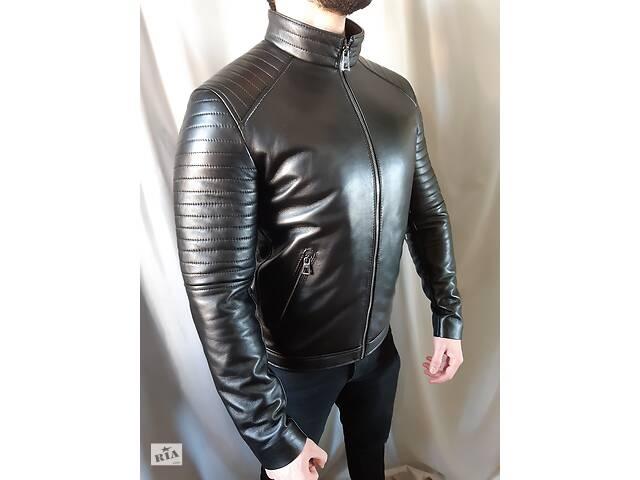 бу Кожаная куртка мужская. Мужская куртка из натуральной кожи. в Киеве