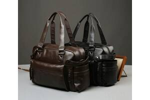 Кожаная мужская сумка Экокожа