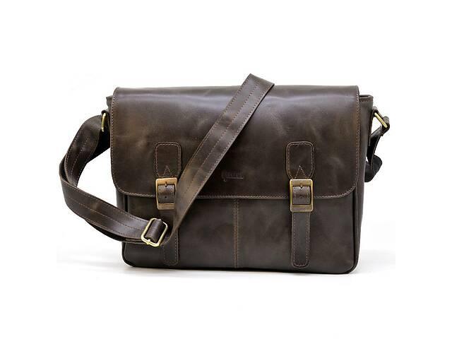 продам Кожаная сумка через плечо для ноутбука и документов  TARWA TRWTC-7022-3md бу в Киеве