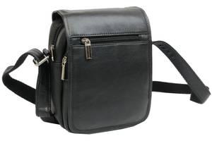 Кожаная сумка мужская Always Wild 5047SPN черная