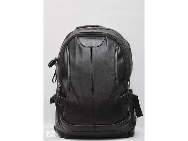 Кожаный мужской рюкзак (кожа искусственная) женский рюкзак- объявление о продаже  в Дубно