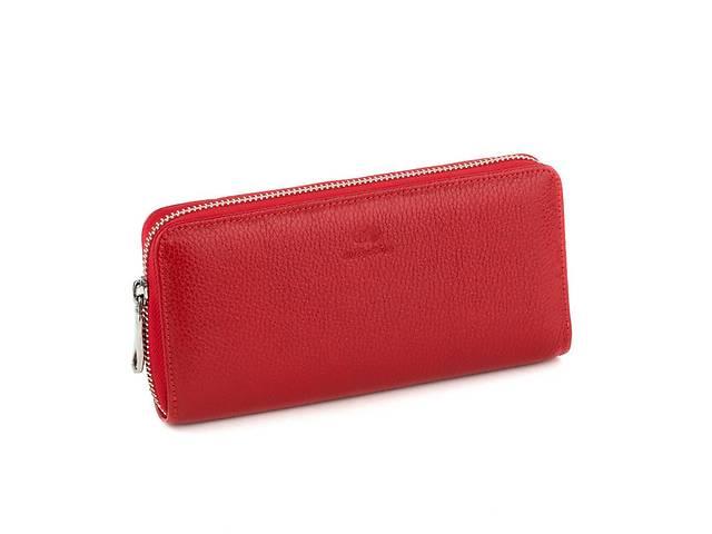 купить бу Кожаный женский клатч-кошелек Флотар Красный (Kpw_02_red_flotar) в Одессе