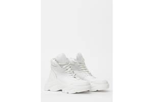 Кроссовки женские кожаные Wright 968KROS 38 белые
