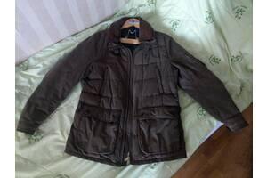 Куртка муж. теплая Massimo Dutti, отстежной воротник, карманы, L,XL