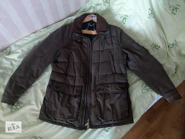 продам Куртка муж. теплая Massimo Dutti, отстежной воротник, карманы, L,XL бу в Киеве