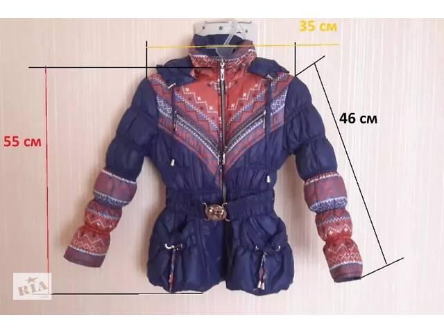 продам Куртка на девочку 6-8 лет(демисезонная весна осень)украинский орнамент бу в Каменке-Днепровской