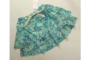 Легкая красивая юбка Lulu Castagnette р. 12 лет