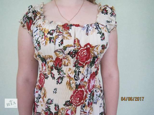 продам летнее платье бу в Борисполе