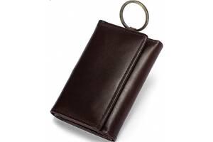 Мужская ключница Bexhill Bx8302C, коричневая из натуральной кожи