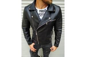 Мужская куртка косуха из эко кожи