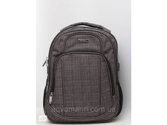 продам Мужской повседневный городской рюкзак для ноутбука + USB бу в Львове